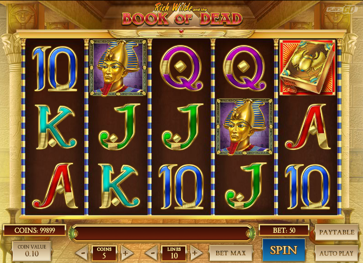 Book Of Dead Free Spins