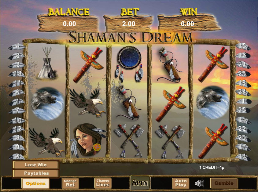 Shaman's Dream Slot Review