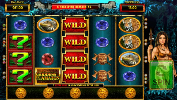 Goddess Of The Amazon Slot Review