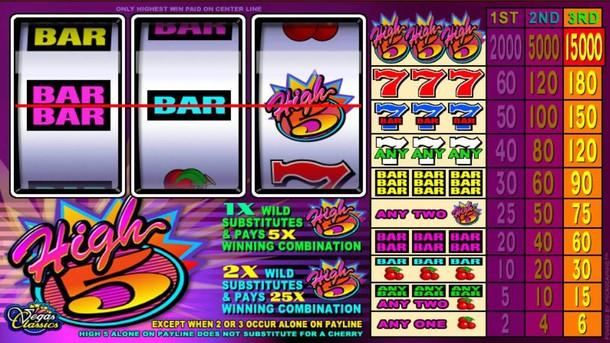 High 5 Slot