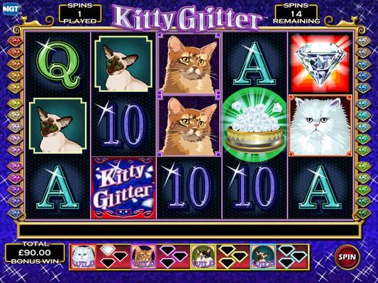 Kitty Glitter Slot Review