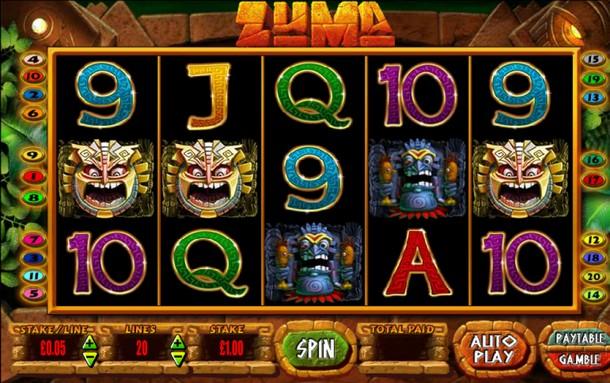 Zuma Slot Review